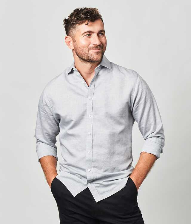 Slim fit - Portofino Linen Grey