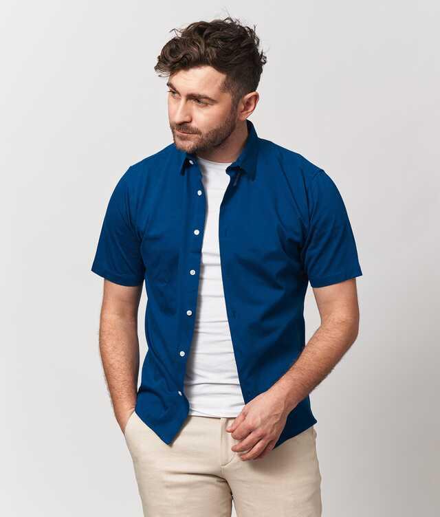 Skjorta Royal Troon Pike Kortärmad The Shirt Factory