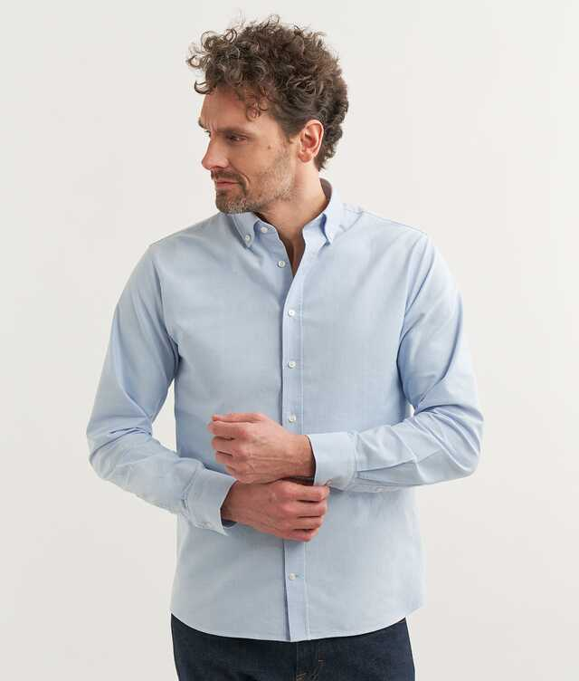 Slim fit - Boston Oxford Lightblue