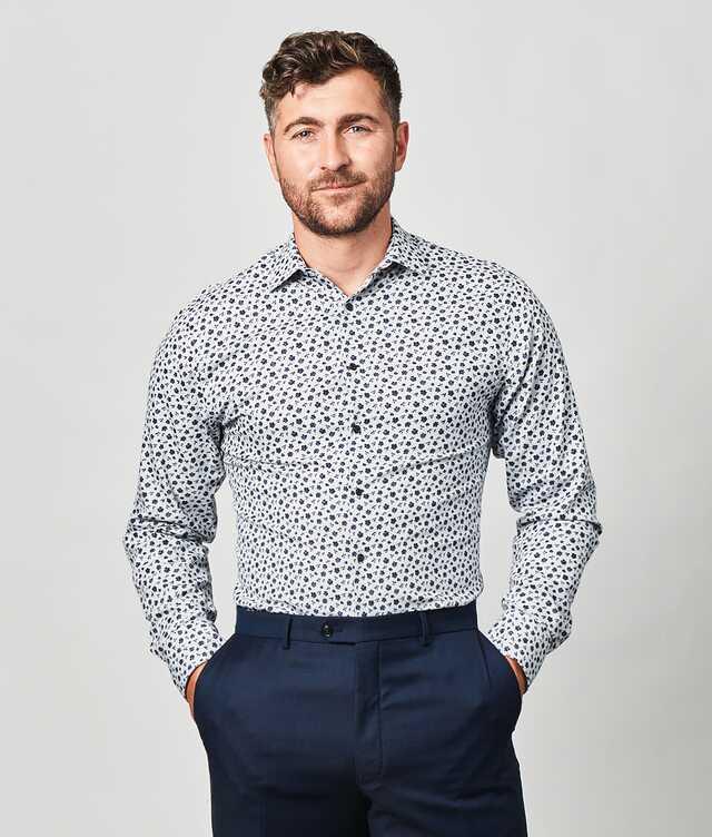 Slim fit - Merida Blue extra long sleeves
