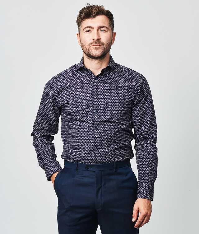 Slim fit - Furnas Mörkblå