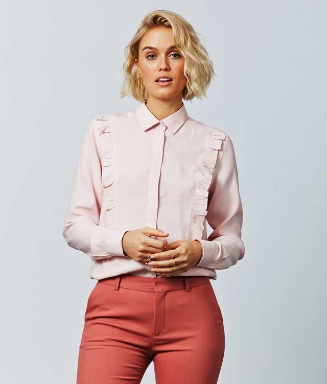 Skjorta Sonja Verona Rosa The Shirt Factory