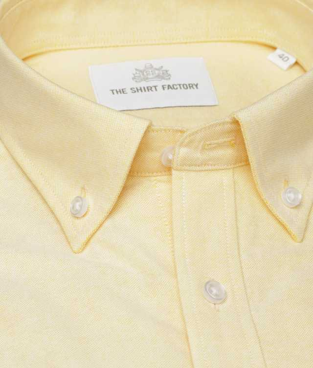 Skjorta Hampton Oxford Gul The Shirt Factory