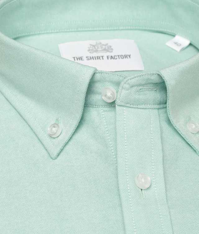 Shirt Hampton Oxford Mint The Shirt Factory