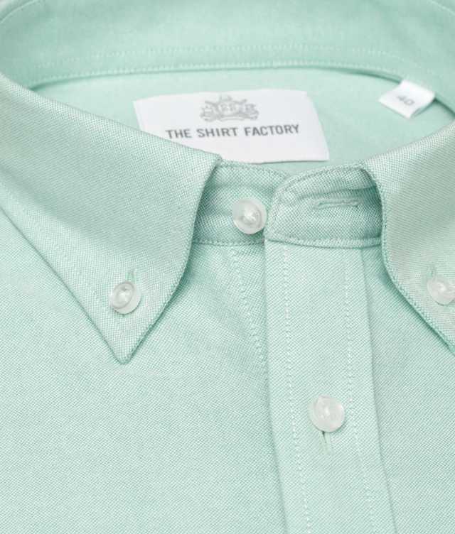 Slim fit - Hampton Oxford Mint