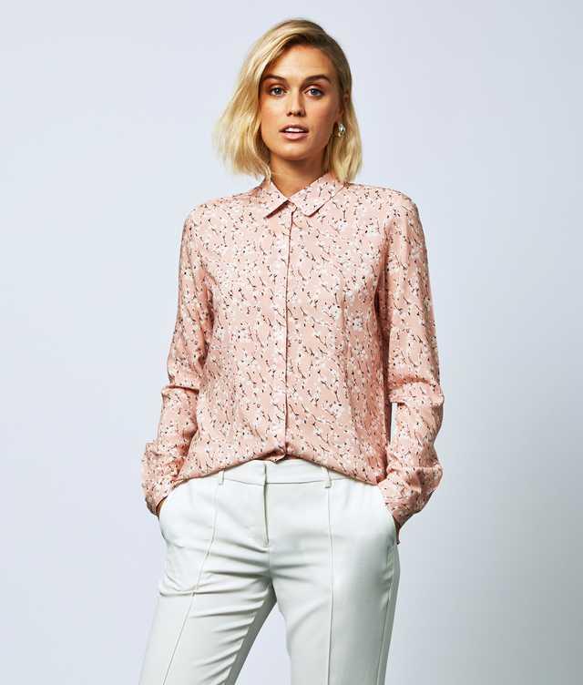 Skjorta Gina Cherry Rosa The Shirt Factory
