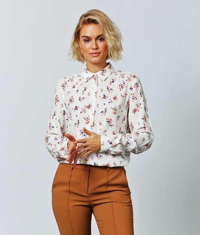 Skjorta Petra Floralys The Shirt Factory