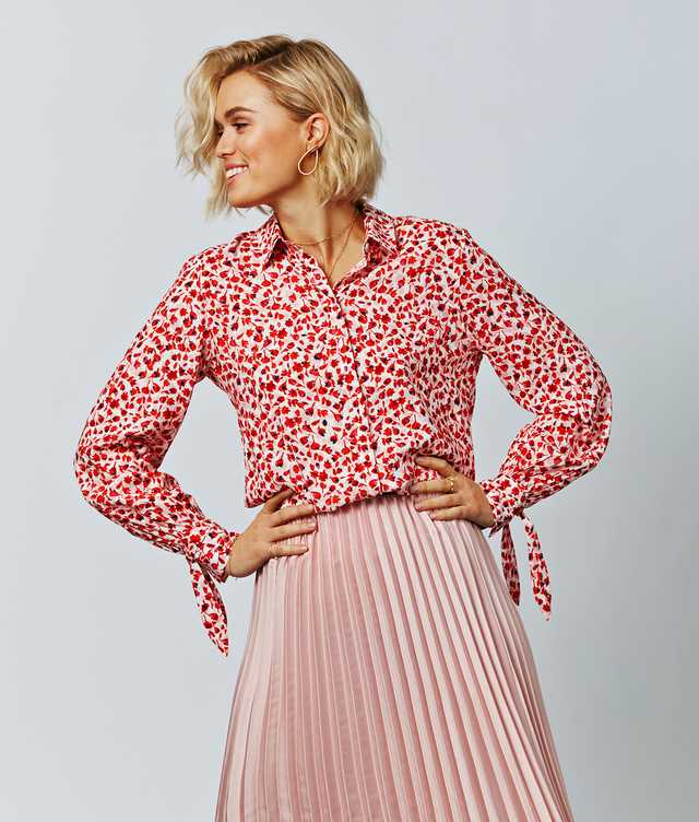 Skjorta Lina Tulip The Shirt Factory