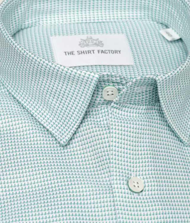 Skjorta Westlake Grön The Shirt Factory