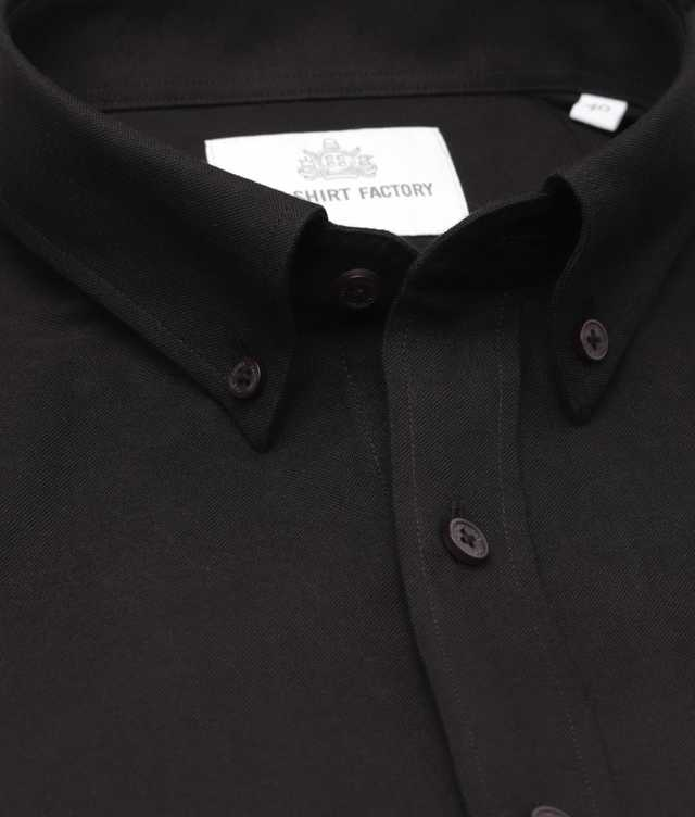 Slim fit - Hampton Oxford svart