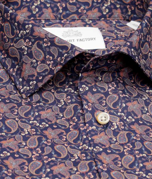 Skjorta St.John Paisley The Shirt Factory
