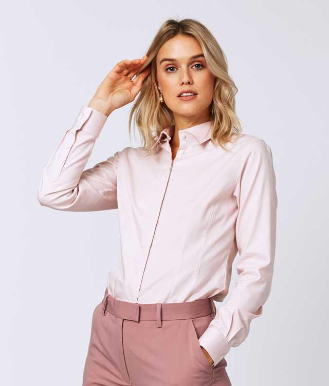 Skjorta Emma Royal Stretch Extra lång ärm  The Shirt Factory